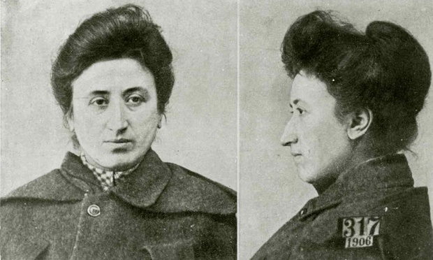 Rosa Luxemburg's mugshot from Warsaw prison in 1906 – she was jailed for her political activities on several occasions. (Photo: Unknown)