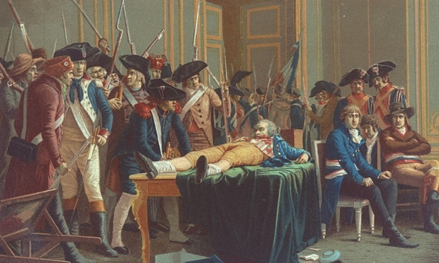 Hoist by his own petard: Robespierre was sent to the guillotine in 1794. (Photo: Time Life Pictures/Getty Images)