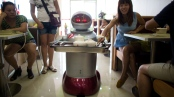 That robot looks cute, but it wants to take yer jerb. (Photo: CTV News)