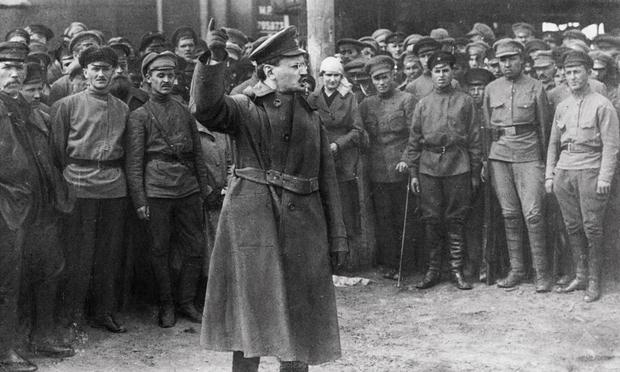Victim and symbol of a changed revolution: Leon Trotsky. (Photo: © Underwood & Underwood/Corbis)