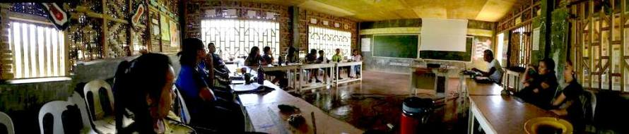 ALCADEV High School in the Philippines.