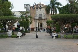 Casa de Monteja as seen from Plaza Grande.
