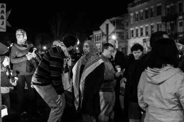 Brendan Maslauskas-Dunn speaks with young Palestinian activist, Haneen Alsaad about a speech she gave.