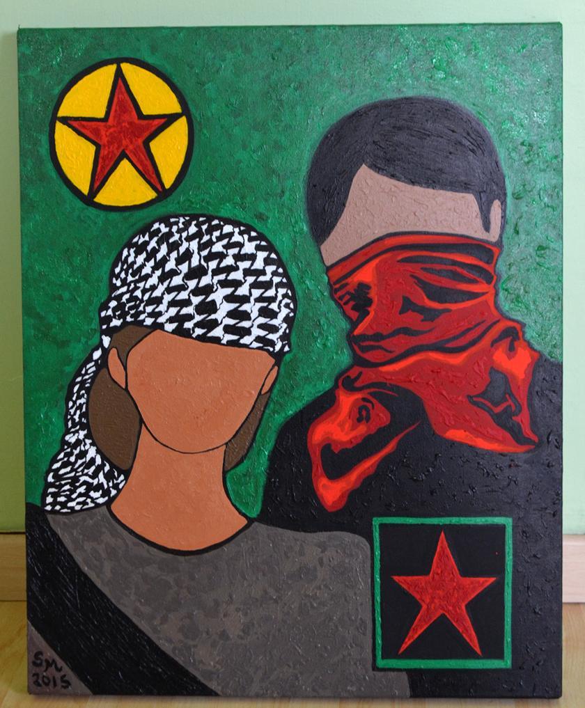 """Résultat de recherche d'images pour """"kurdistan zapatista"""""""