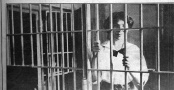 Helen Schloss in Herkimer Jail, arrested for involvement in the IWW strike and Little Falls Free Speech Fight.