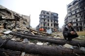 Eastern Aleppo – credit Omar Sanadiki/Reuters