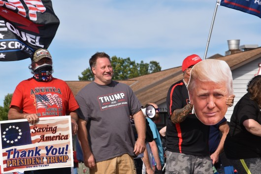 Making America Great Again in Schuyler, NY. (Photo Credit: Love and Rage)